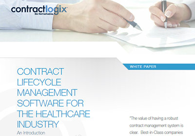 Contract Management for Healthcare