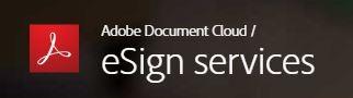 Adobe EchoSign Electronic Signatures