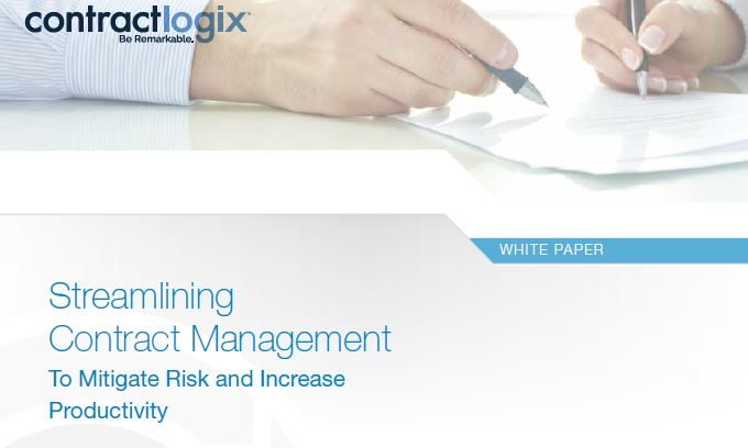 Streamlining Contract Management