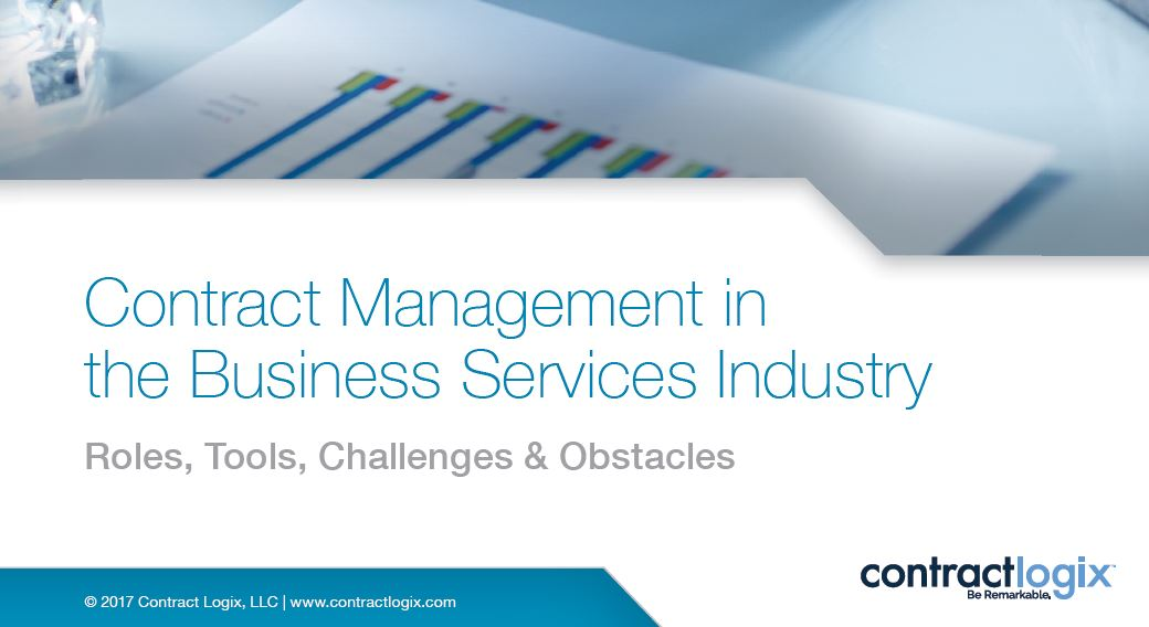 Contract Management at Manufacturing Companies