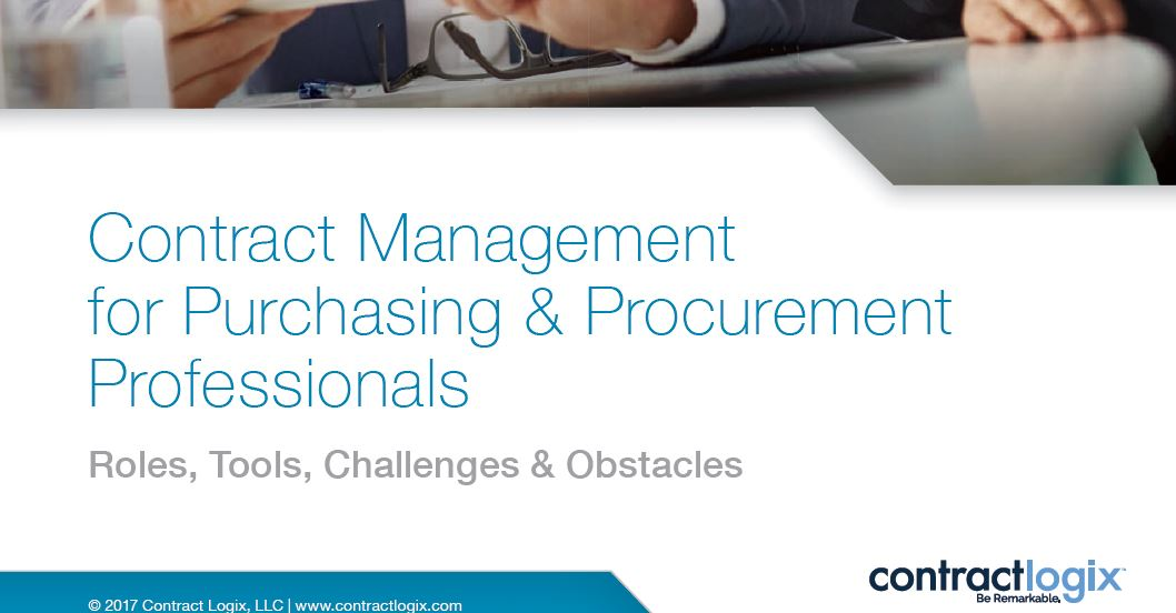 Contract Management for Purchasing & Procurement Professionals