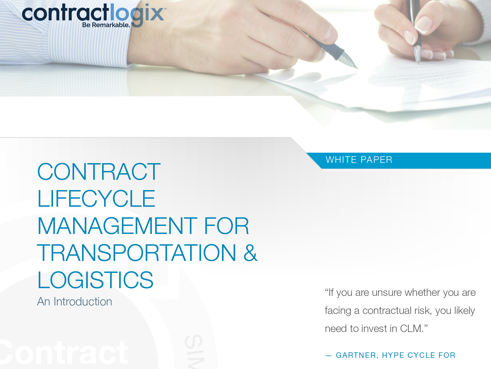 CLM for Transportation and Logistics