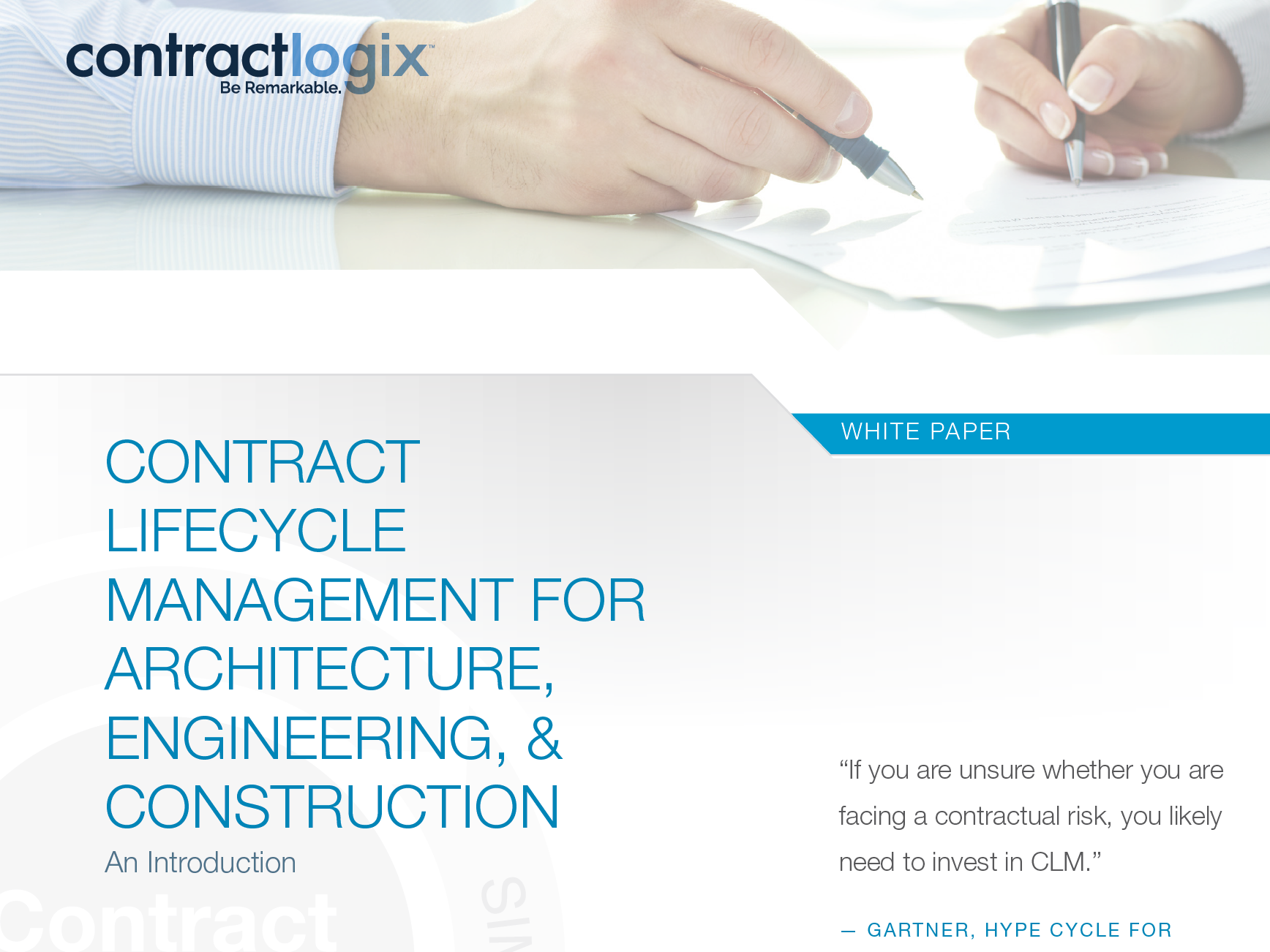 CLM for Architecture, Engineering, & Construction