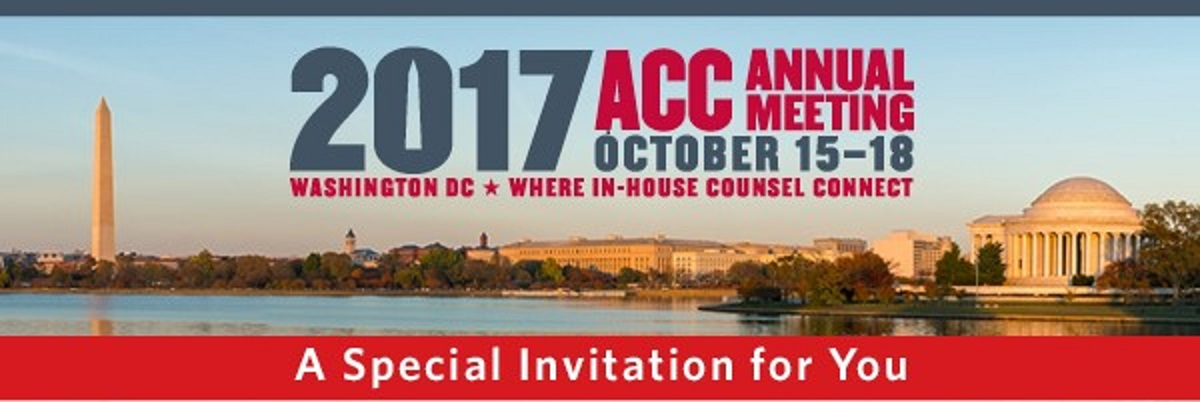 Association of Corporate Counsel's Annual Meeting