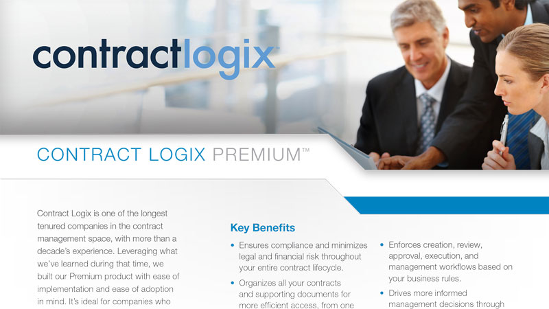 premium contract lifecycle management software