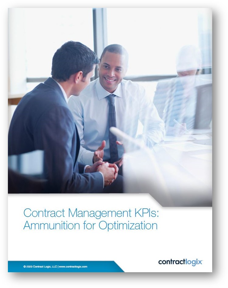 contract management kpis for in-house legal