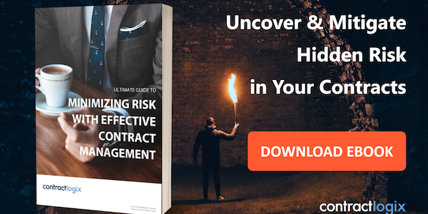 minimizing risk with effective contract management