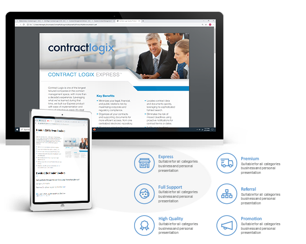 Contract Software Product Brochures
