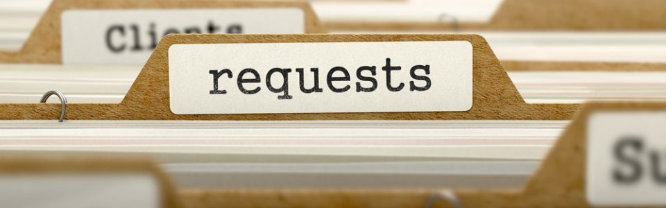 self-service contract request process