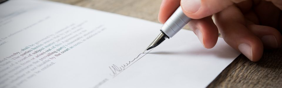 stages of the contract management process
