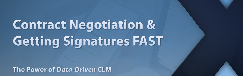 Contract Negotiation and Getting Signatures