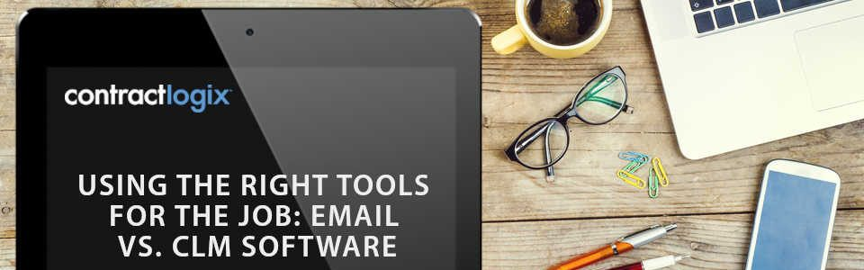 email vs. clm software